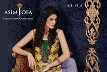 Asim Jofa Luxury Lawn Collection 2014 / Rs.7,995/-