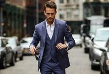 Gentlemen Look / Elegant. Classy. Suit & Tie.