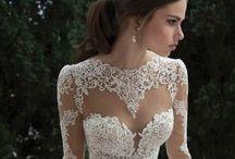 Wedding dresses / Collection of beautiful wedding dresses.