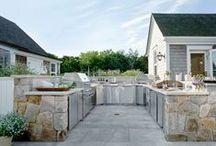 All About Outdoor / Outdoor kitchens come to life at the start of summer. Re-imagine your outdoor space with the ROHL Water Appliance.   / by ROHL