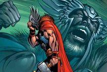 Marvel Heroes - Thor & Loki Art