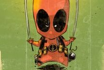 Marvel Heroes - Deadpool Art / Celebrating our favorite Marvel animation and comic art for Dead Pool, the best anti-hero the world can always laugh at/with.
