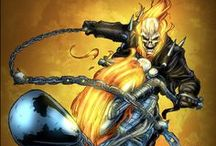 Marvel Heroes - Ghost Rider Art / Celebrating our favorite Marvel animation and comic art for Ghost Rider.