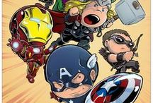 Marvel Heroes - The Avengers Art / Celebrating our favorite Marvel animation and comic art for The Avengers including studio characters and the comic universe. Hawkeye, Black Widow, Hulk, Captain America, Iron Man and more.