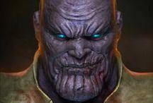 Marvel Villains - Thanos Art