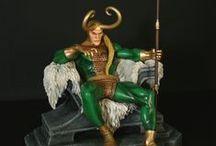 Marvel - Statues