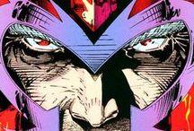 Marvel Villains - Magneto / Comic art and animation celebrating Magneto, the X-Men's greatest super-villain (and sometimes friendly partner).