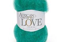 Love / 50g Ball | 100m 78% Mohair | 13% Wool | 9% Nylon Chunky Yarn
