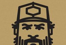 Draplinism / A made-up word. A collection of graphic designs related to the works Aaron Draplin of Draplin Design Co. http://www.draplin.com/