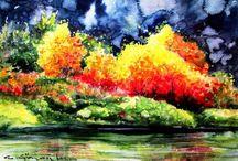 Suluboya resimler ....watercolor paintings