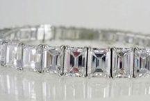 Bracelets Diamants / Bracelets Diamants, en or blanc et or jaune. http://www.juwelierhausabt.de/fr , www.pearlgem.de , www.diamantring.be