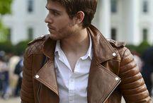 Cozac / Jachete din piele bărbații 2015/2016