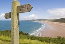 Discovering North Devon / Exploring North Devon, wild moorland, dramatic coastline & market towns and some of the best beaches in the UK