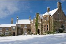Winter Weddings at Country Manor House / North Devon country manor wedding venue and image collection at the beautiful Northcote Manor Hotel