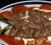 Kebab dishes & Kebap / Turkish Kebab's