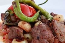 Et Yemekleri & Meat foods / Turkish Meat dishes.