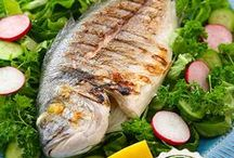 Balık Yemekler &  Fish dishes / Turkish Fish dishes.