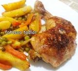 Tavuk Yemekleri &  Chicken dishes / Turkish chicken dishes.