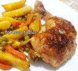 Chicken dishes & Tavuk Yemekleri / Turkish chicken dishes.