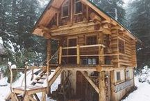 Cabin & Mountain House & Dağ evi
