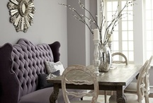 Home decor~Beautifully decorated rooms  / Variety of rooms, amazing decor  / by Tracey Hooks