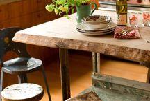 Interior design - Kitchen / dining area / Heminredning - kök & matplats / Home decor - kitchen and dining