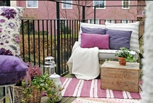 Interior design - balcony and outdoor places / Interior design - balcony and outdoor places