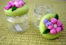 PAM / pots décorés