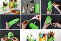 Recycler, idées décos, bricolages