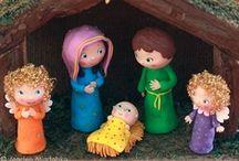 Porcelaine froide Noël