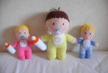 Tricot poupées / monstres / divers