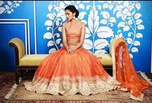 Lehengas / #lehengas #weddingseason   Gorgeous splash of colors for weddings and special occasions