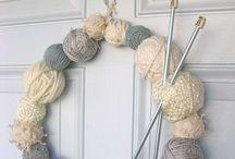 Knitting & wool work