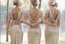 Wedding [bridesmaids dresses] / #bridesmaids #dresses ~ a variety of styles, looks and colours !