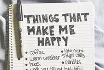 my happy things...