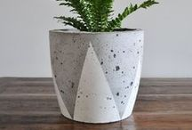 DIY - Stone and concrete / DIY projects with stones and in concrete.