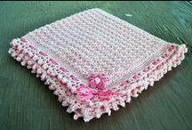 Couvertures au crochet