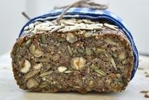 Healthy bread / Healthy bread recipes with lots of seeds, nuts, and dried fruits. I prefer little or no flour. I also avoid sugar and want to use stevia, honey or syrup for sweet breads.