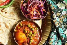 Sabji, Curry, Sambar and Stew