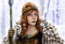 Charakter Design Freya / Inspiration für Freyas Design