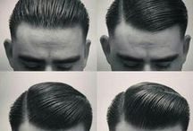 Hairstyles - Men / My Hair Styles #mensfashion #vintage #style #fashion #fashionista #menswear #mensstyle #lovethislook #outfit #outfitinspiration #hairstyle #win #barber #barbershop