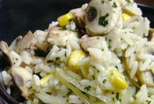 Rice dishes / Rice is a staple in many homes...so here are some ideas to turn plain white rice into something interesting