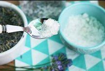 Domowe kosmetyki / Pomysły na naturalne domowe kosmetyki. Darmowe etykiety do druku. Więcej zdjęć i opisów  na blogu www.theideabox.pl