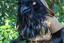 LARP Monster & Fabelwesen / Ideen und Inspiration für Darstellung und Kostüme von Fabelwesen und Monstern im Live Rollenspiel (LARP)