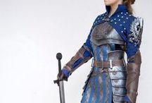 LARP Krieger / Ideen und Inspiration für Gewandung und Ausrüstung um Krieger und Kämpfer im LARP zu spielen