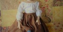 Doll Clothes for a Helen Kish Chrysalis Doll