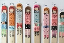 Petites mains  grandes idées (little fingers for cute diy and crafts) / DIY, CRAFTS for KIDS / by Lau Louvet