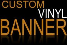All Vinyl Banners / Take a look at all of our Custom Vinyl Banners! We use the highest full digital quality! Order yours today!  StickersBanners.com