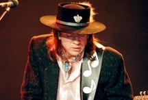 Stevie Ray Vaughan / by Choxanne Rontay