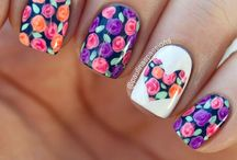 Nails / If only I could paint my nails like these... :/ / by Sarah ☼ ☯